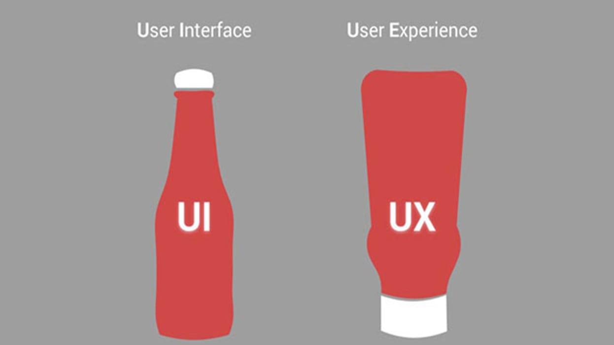 تفاوت UX(تجربه کاربری در طراحی سایت) با UI