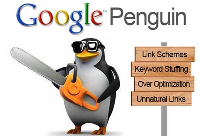 وظیفه اصلی الگوریتم پنگوئن