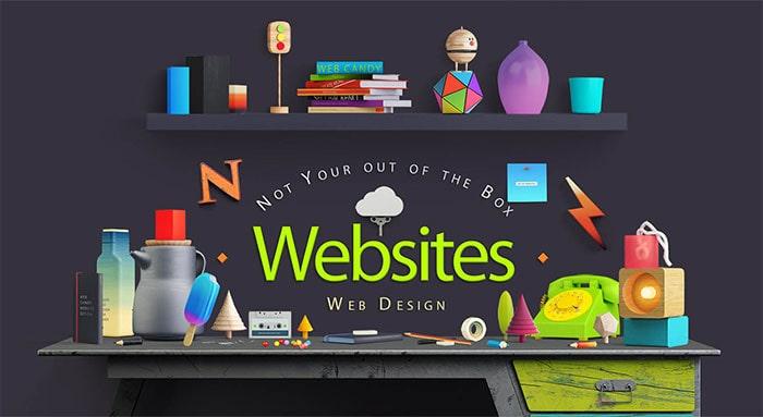 سیستم طراحی سایت های فلش