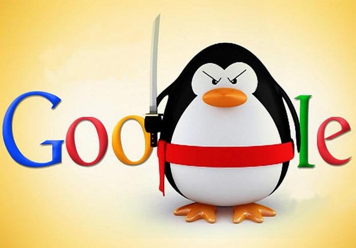 جریمه الگوریتم پنگوئن گوگل