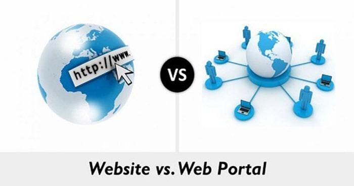 تفاوت وب سایت و پرتال