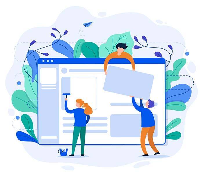 ایجاد یک وب سایت