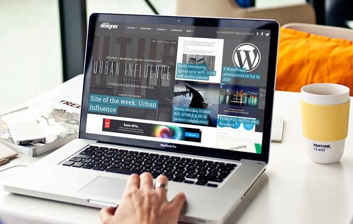طراحی سایت با cmsها مانند وردپرس