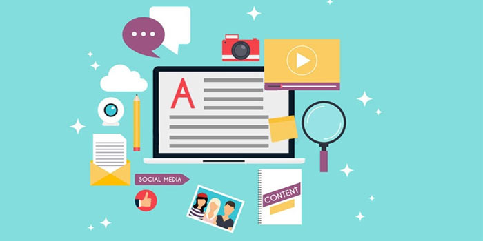 اهداف content advertising