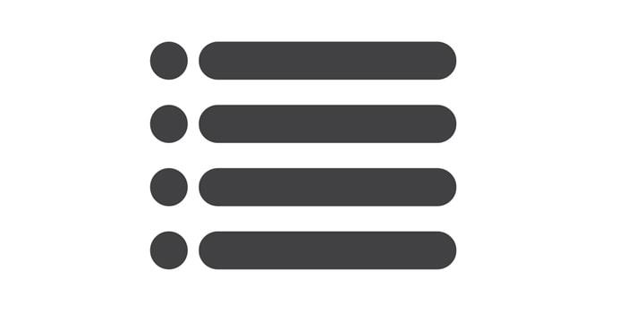 قالب بندی متن و bullet point در نرم افزار ورد