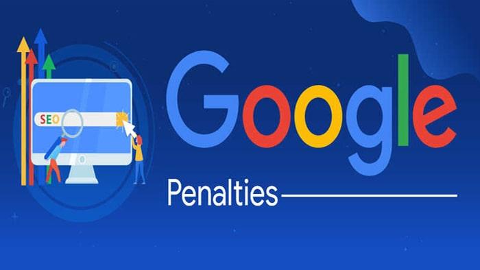 انواع پنالتی گوگل