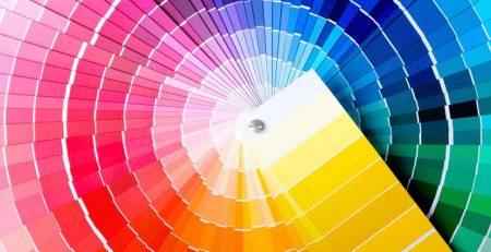 چرخه رنگ در طراحی سایت
