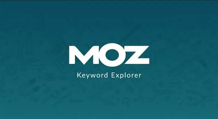 Moz Keyword Explorer یکی از ابزارهای انتخاب کلمات کلیدی