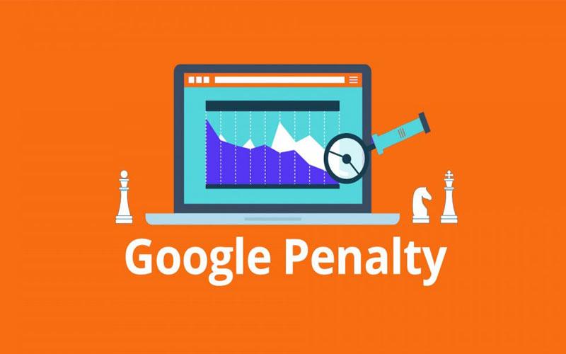 رفع پنالتی گوگل