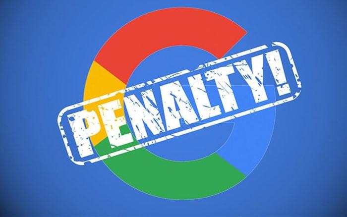 رفع پنالتی گوگل به دلیل تبلیغات