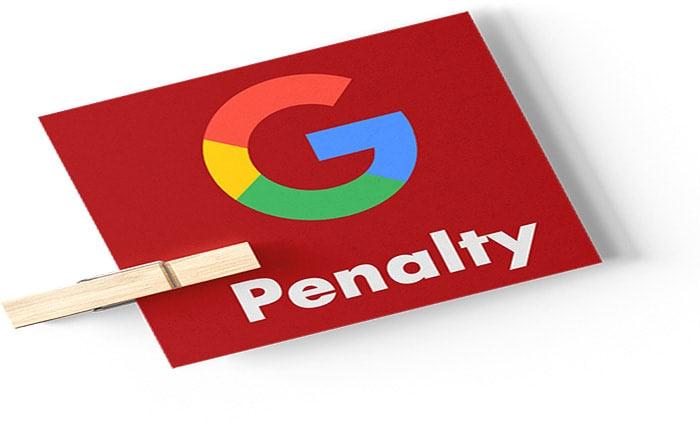 google penalty fix به دلیل تکرار بیش از حد کلمات کلیدی