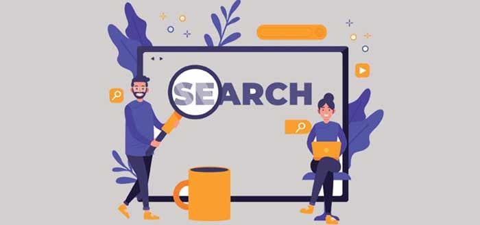 در حالت کلی انواع search-engines را میتوان به دو نوع زیر تقسیمبندی کرد: