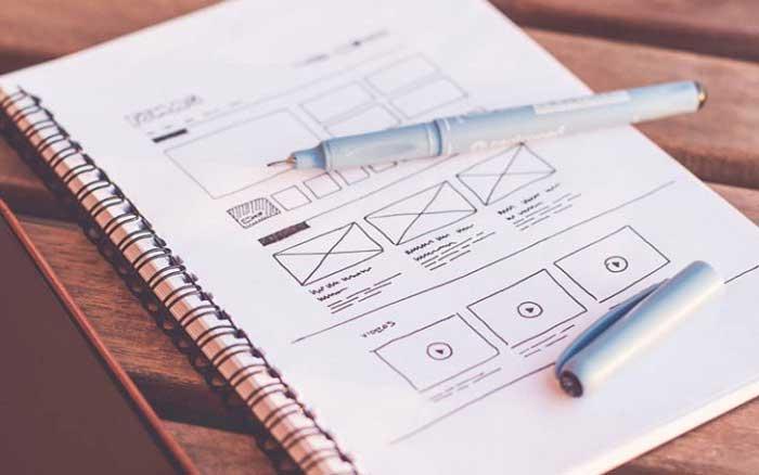 چرا برای طراحی وبسایت از وایرفریم استفاده میشود؟