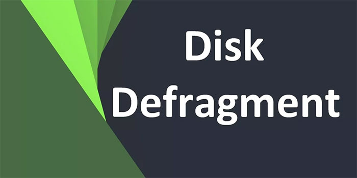 Disk Defragmenter چیست