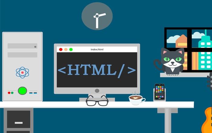چرا اچ تی ام ال یک زبان برنامه نویسی نیست؟