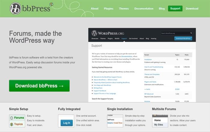 استفاده از bbPress