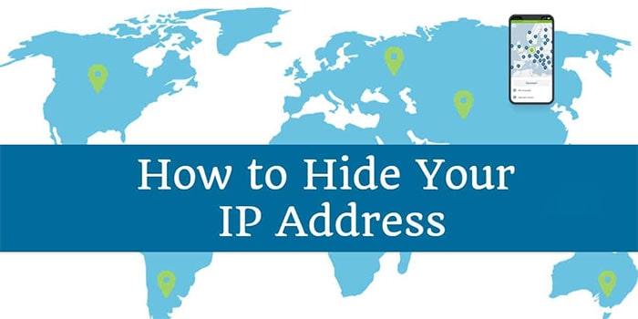 پنهان کردن آدرس IP