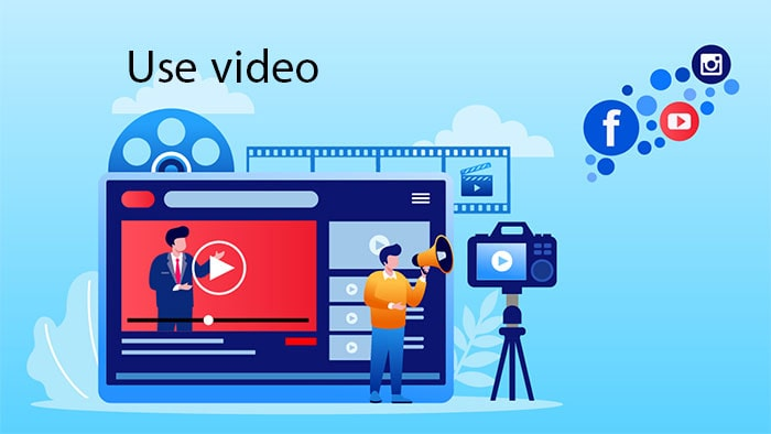 استفاده از ویدیو در visual marketing