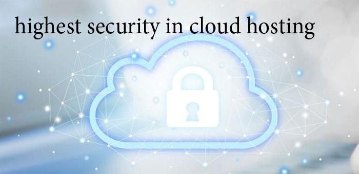 امنیت بالاتر در Cloud Hosting