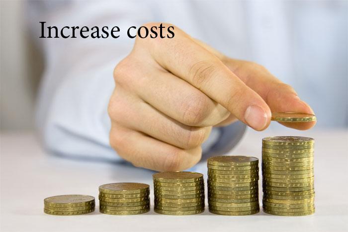 افزایش هزینه ها در cloud hosting