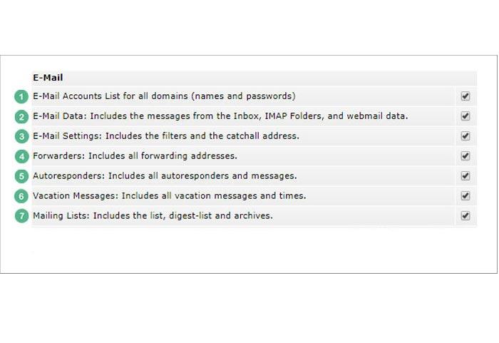 چگونه از ایمیل های هاست خود بک آپ بگیریم؟