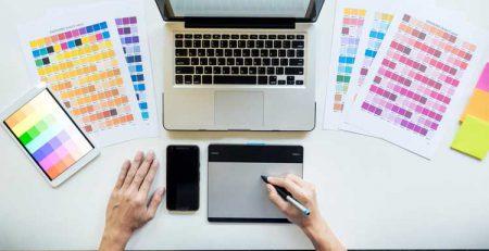 انتخاب رنگ برای طراحی سایت