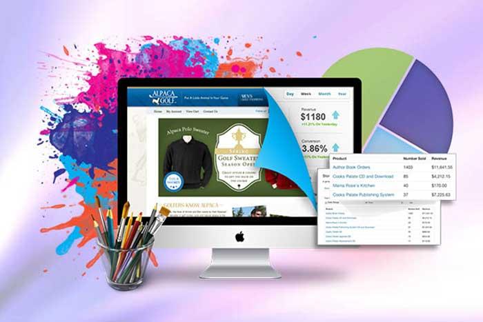 ترکیب رنگ و انتخاب رنگ مناسب برای طراحی سایت