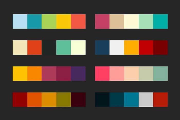 چگونگی انتخاب ترکیب رنگ مناسب برای طراحی سایت