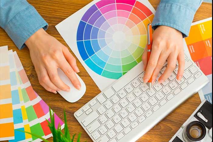 اصول کلی رنگ بندی سایت