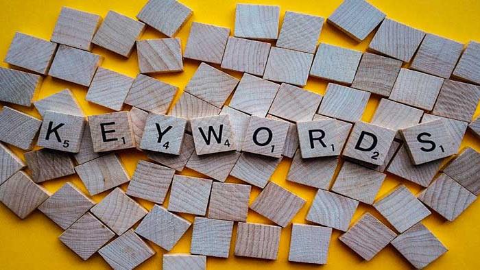 لیستی از کلمات