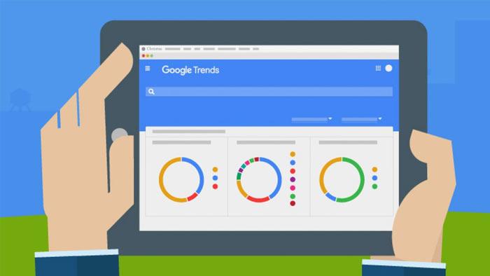 آمارگرفتن با گوگل trend