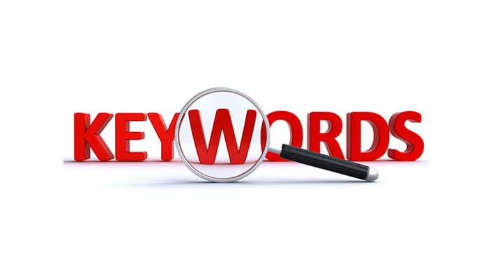 انتخاب کلمه کلیدی مناسب