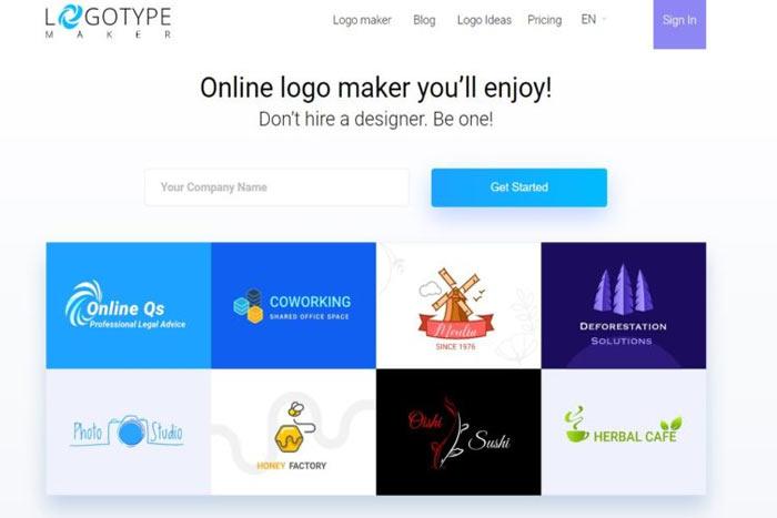 لوگو ساز رایگان Logo Type Maker