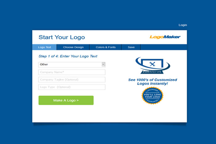 لوگو ساز رایگان LogoMaker