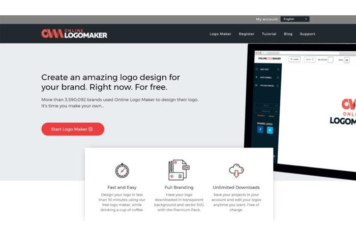 لوگو ساز رایگان Online Logo Maker