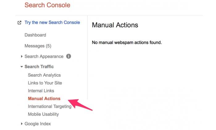 چطور بفهمیم گوگل سایتمان را پنالتی کرده است ؟