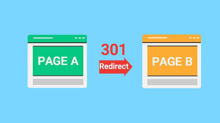 ریدایرکت 301 صفحات حذف شده یا تغییر لینک