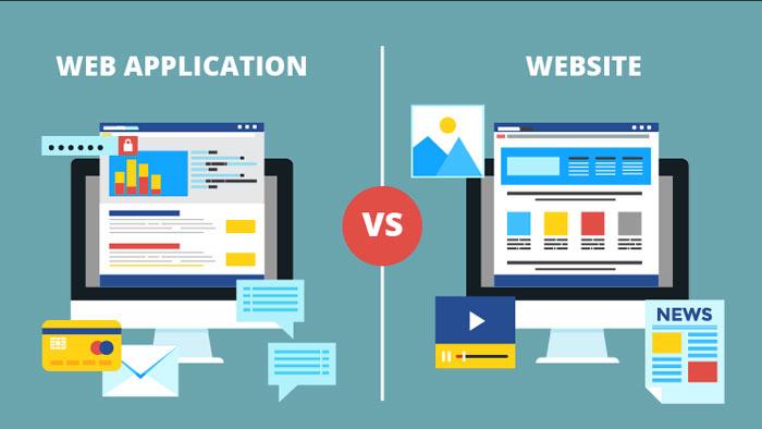 تفاوت وب اپلیکیشن و وب سایت در چیست؟