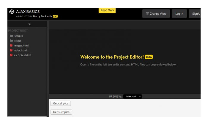 CodePen Projects