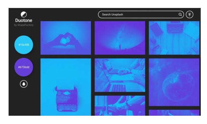 Duoton یکی از ابزارهای آنلاین برای طراحی سایت