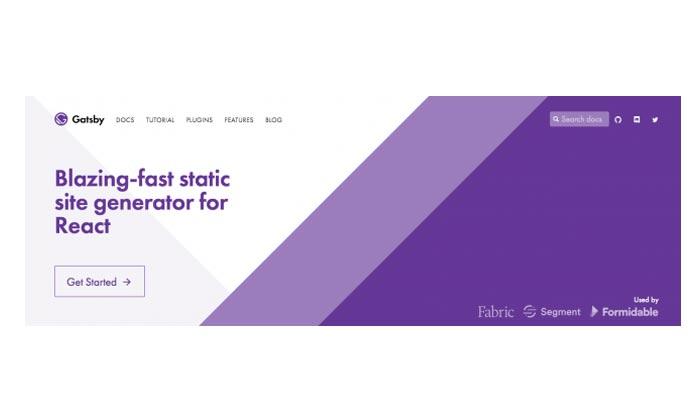 GatsbyJS یکی از ابزارهای آنلاین برای طراحی سایت