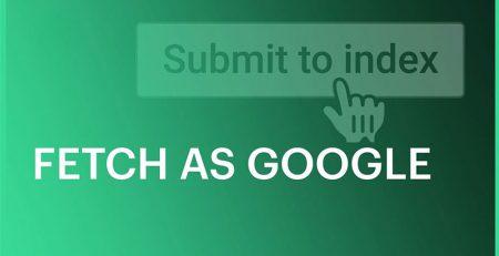 ابزار fetch as google