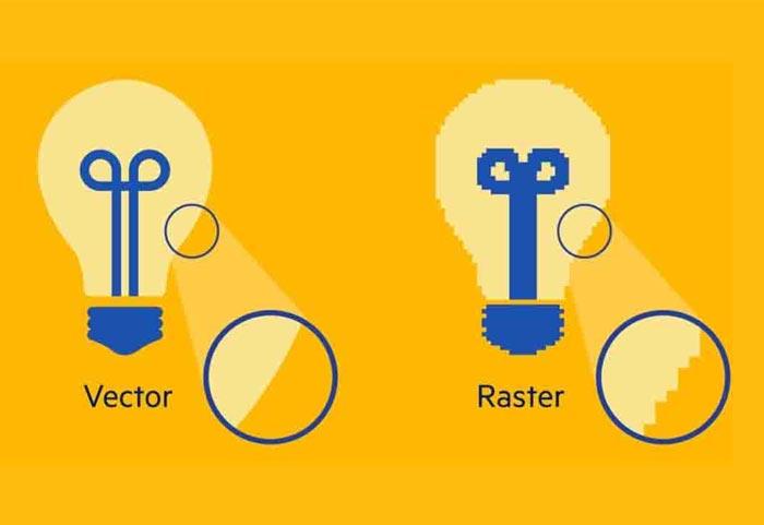 فایلهای راستر با نسخه تغییر سایز داده شده خود همسان نیستند