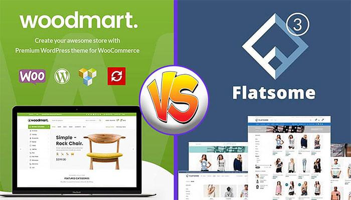 woodmart vs flatsome