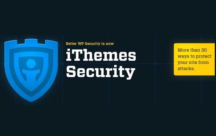 بهترین افزونه های امنیتی وردپرس iThemes Security