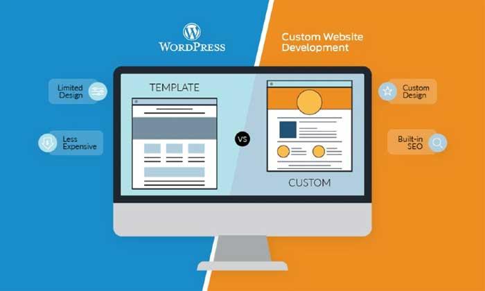 تفاوت طراحی سایت وردپرس با کدنویسی شده در چیست؟