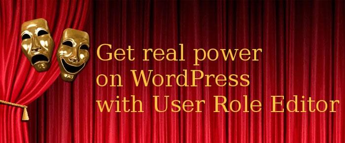 مدیریت نقش کاربران با افزونه User Role Editor