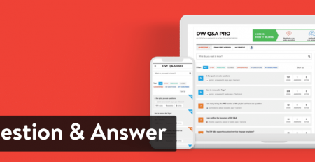 افزونه DW Question and Answer