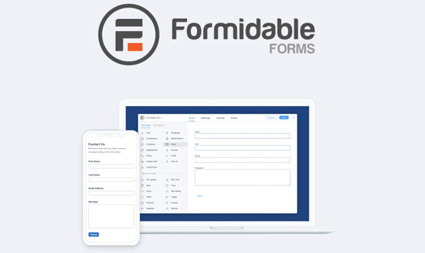 افزونه Formidable Forms