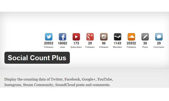 Social Count Plus